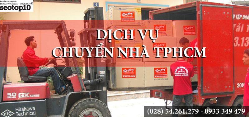Top 10 dịch vụ chuyển nhà, văn phòng tốt nhất tại Sài Gòn