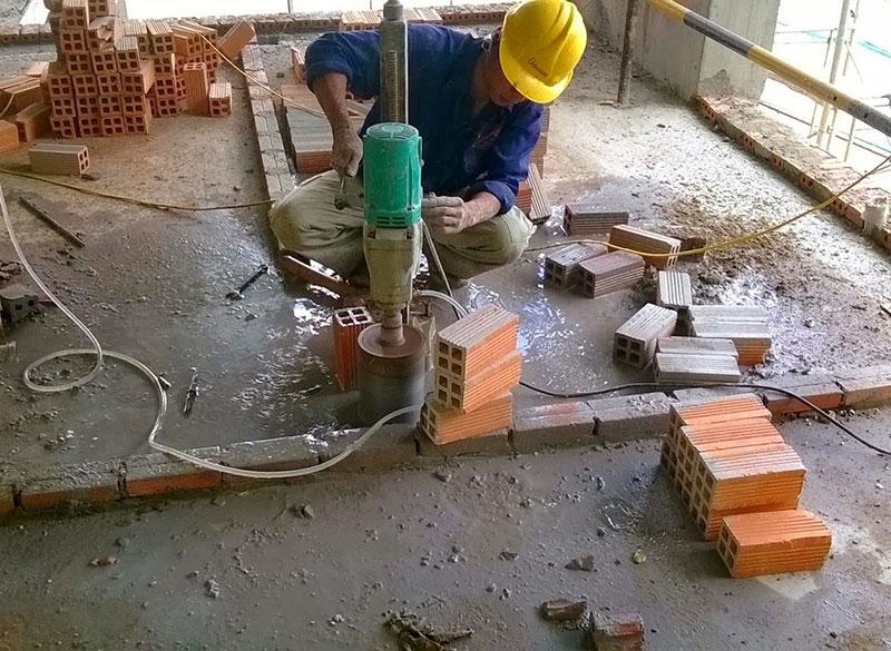 Công ty khoan cắt bê tông giá rẻ Hoàng Lâm tại Tphcm