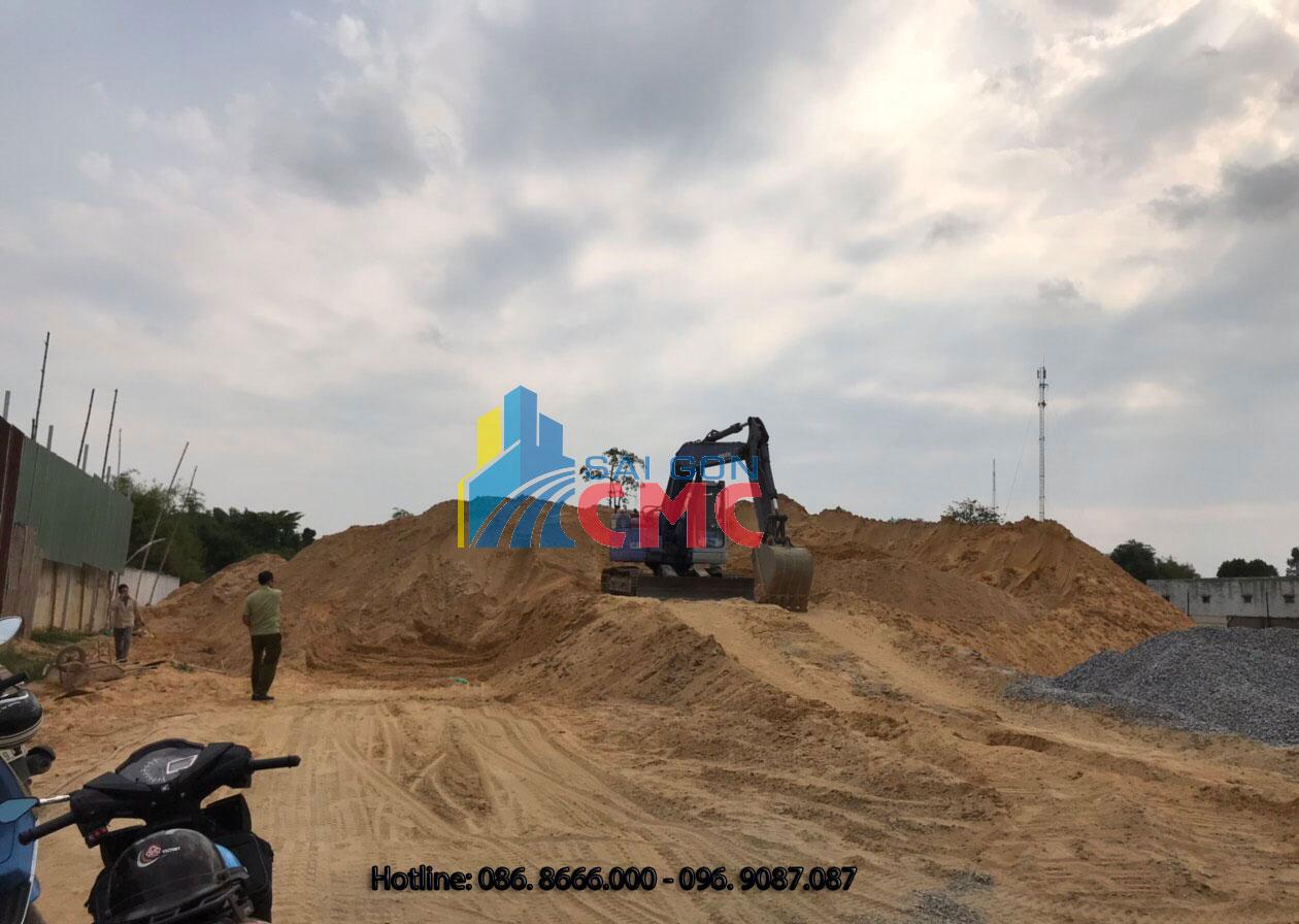 Sài Gòn CMC cung cấp cát san lấp cho các nhà thầu xây dựng