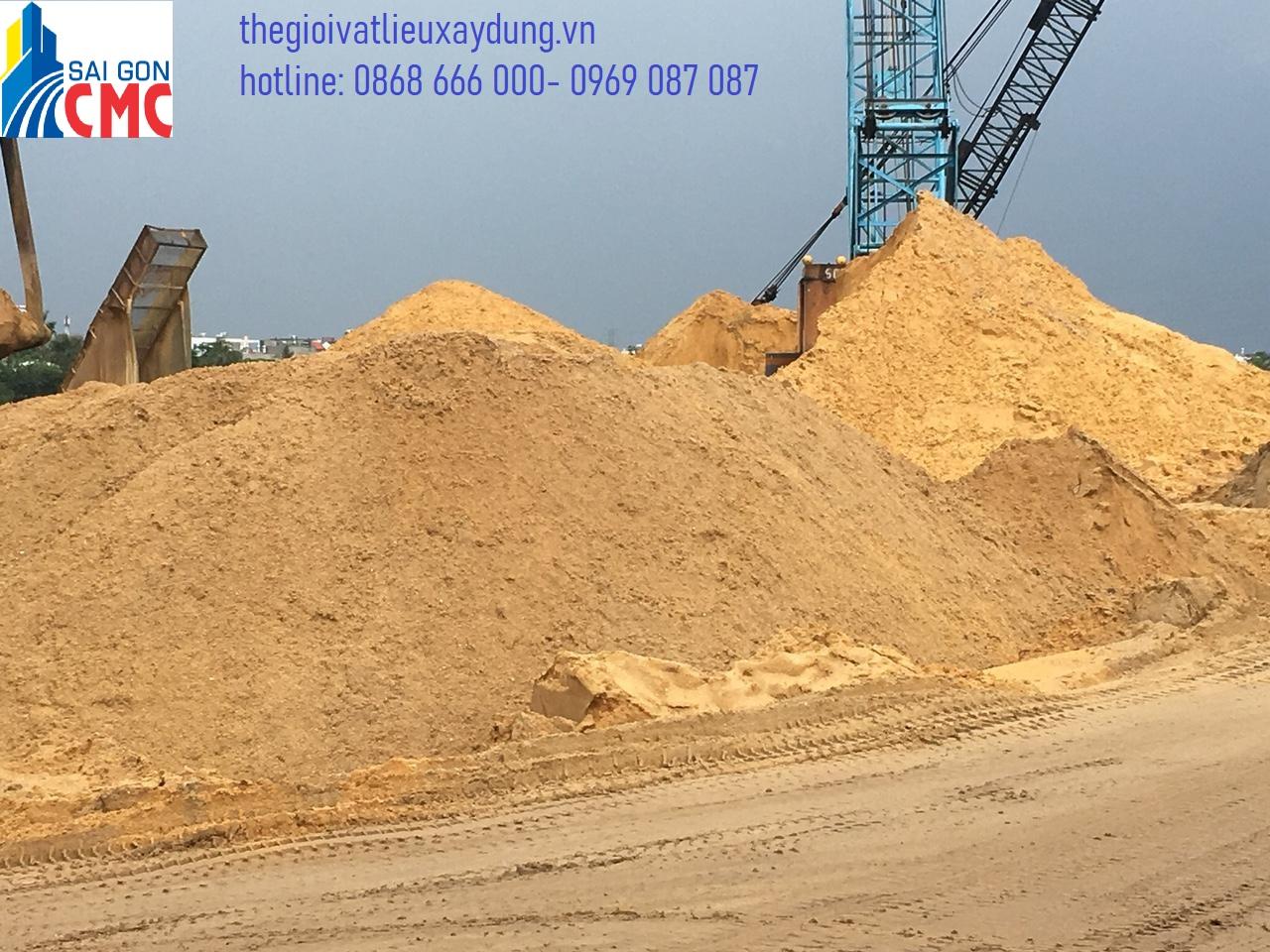 Vai trò của cát xây dựng thể hiện trong từng ứng dụng của nó trong xây dựng