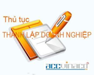 Dịch vụ thành lập công ty uy tíntại Tphcm