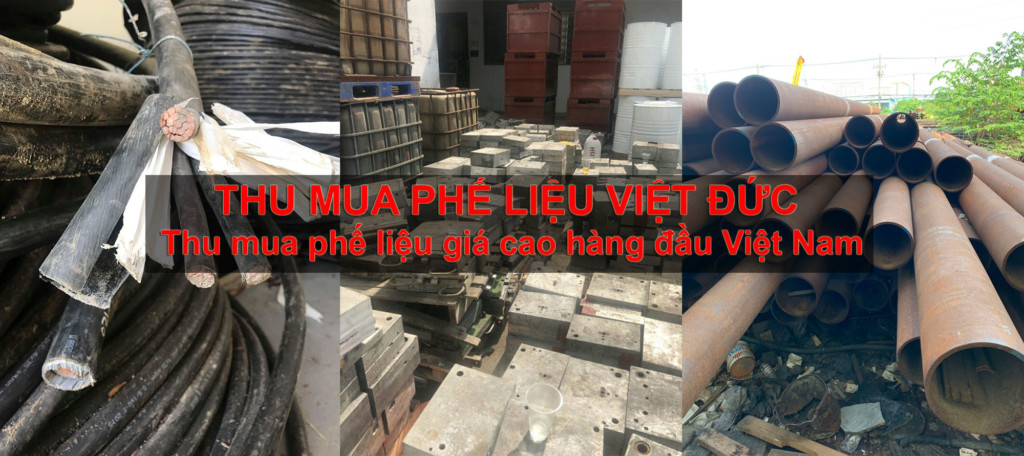 Công ty thu mua phế liệu Việt Đức